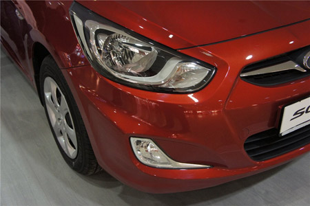 Головная оптика Hyundai Solaris (фары и противотуманки) - Фотогалерея клуба Hyundai Solaris.