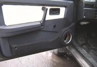 пустые подиумы в машине 2